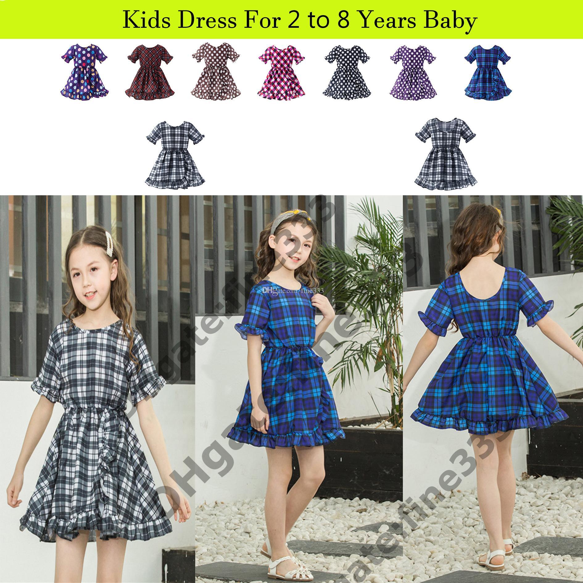 6cb7a49662953 Girls Dress Floral Children Baby Cherry Dresses Girl Wedding Party;Princess  2 Year Birthday Cotton Summer 2019 Teenage Vestido Infantil