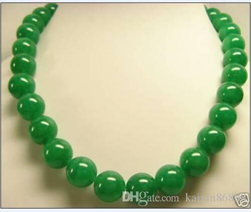 8mm white akoya round PEARL DANGLE EARRING 14K 12mm green jade Pretty