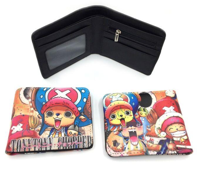Niedliche Cartoon Anime Spiel Brieftasche Student Kinder Kurze Geldbörse Kreatives Geschenk Kinder Brieftasche Taschen Cartoon PU Brieftasche mit Reißverschluss Münzfach