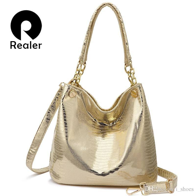 5d48e5ad0c26 REALER Women Handbag Designer Hobo Shoulder Bag Female Animal Prints PU  Leather Top Handle Tote Bag Ladies Large Crossbody Bags  112927 Ladies  Purses ...