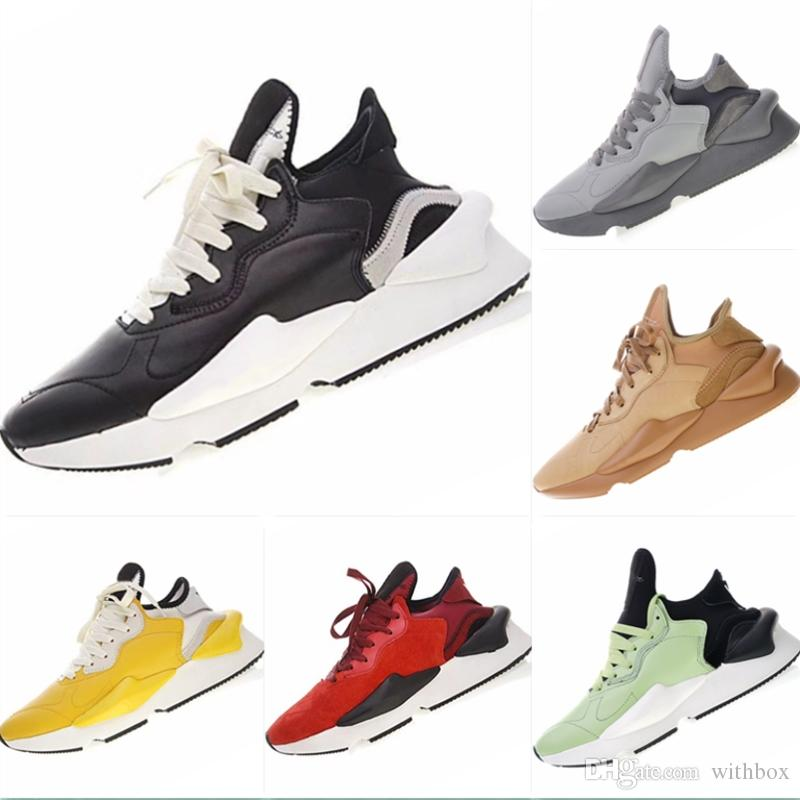 ff00e75ab1d3d 2019 Y3 Kaiwa Chunky Warrior Genuine Leather Sports Shoes Y3 Qasa ...