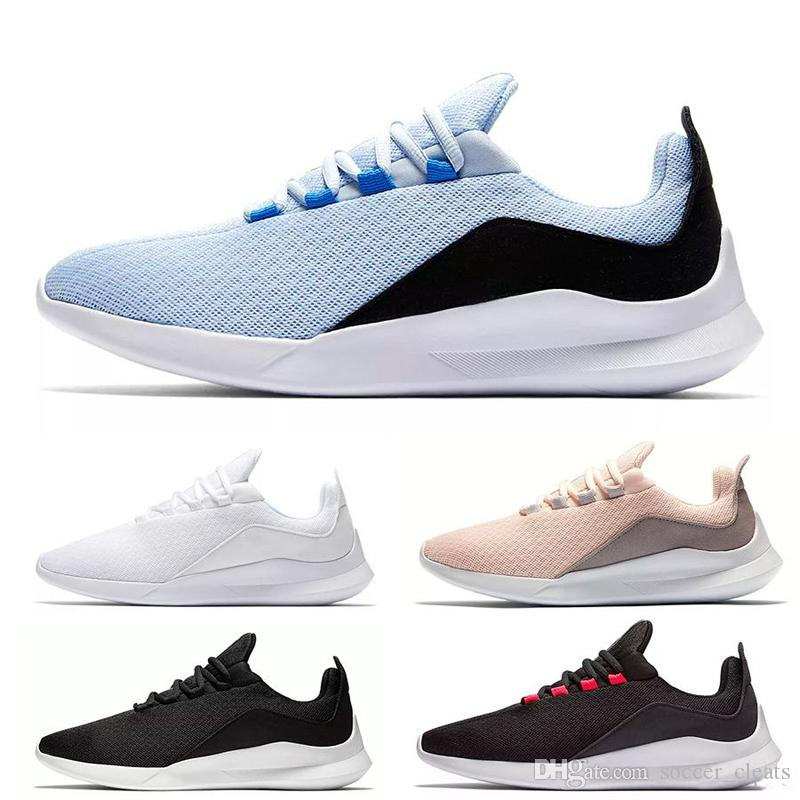 2019 Viale 5 Running Shoes Mens Olympic London 5s Runners Tariners Womens Triple White Black Blue Light Breathable Sports Sneakers 36-45