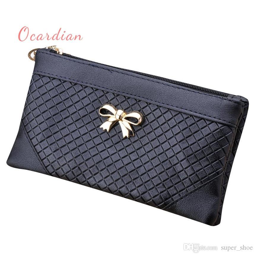 dfa736c9e7 OCARDIAN Bolsos Mujer Women Bow Weave Pattern Wallet Shoulder Messenger Bag  Handbag Casual A0927#25 #237518 Designer Purse Bags For Sale From  Super_shoe, ...