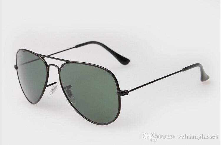 a0c592be85b60 Compre 2019 Luxury Ray Brand 3O25 Gafas De Sol Hombre   Mujer Gafas De Sol  De Piloto UV4OO Gafas Gafas De Aviador Conductor Prohibiciones Marco De  Metal ...