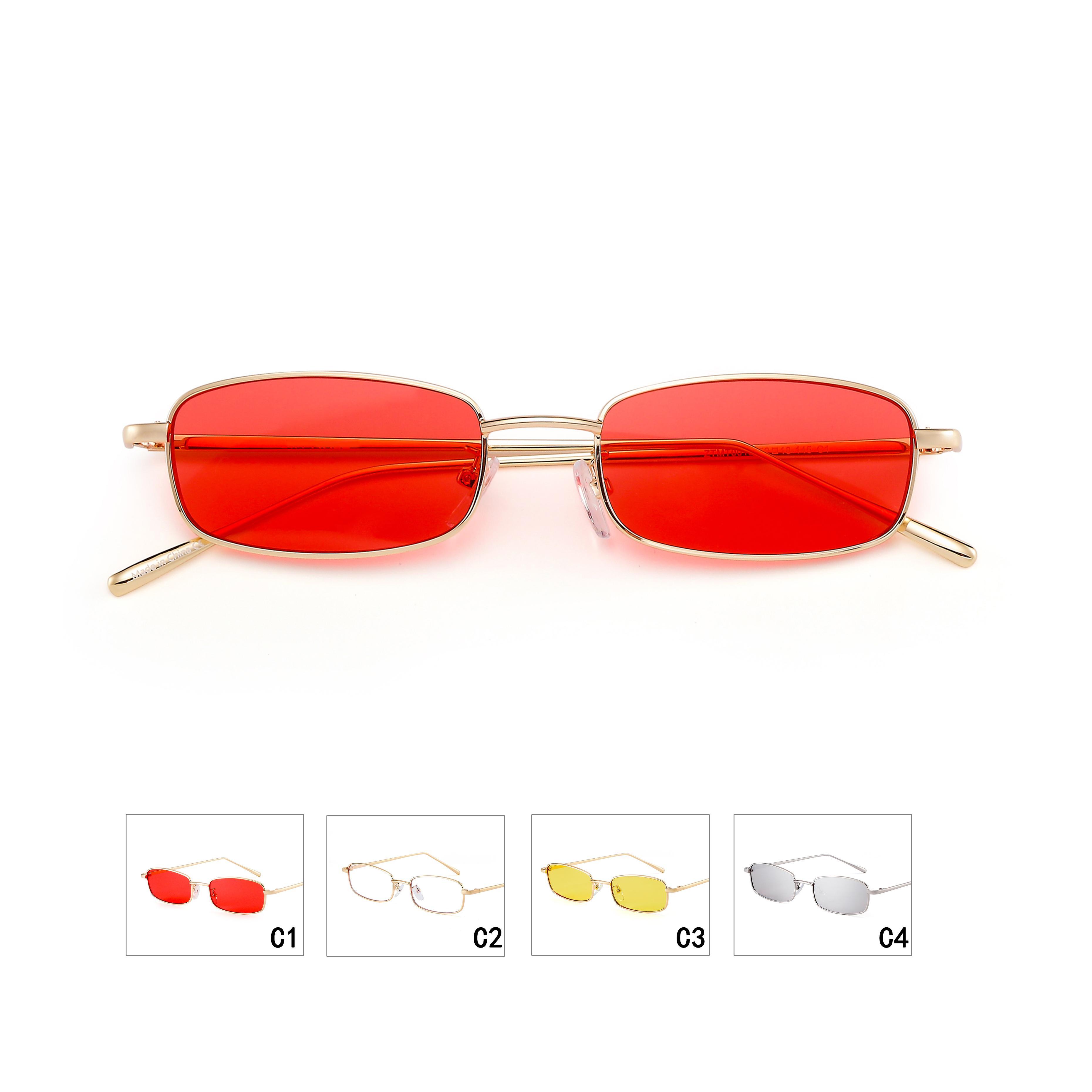 Pequeñas Gafas Hombres Vintage Rojas Gratis Decoración Envío Sol Marcos De Moda Mujeres shrxtQCd