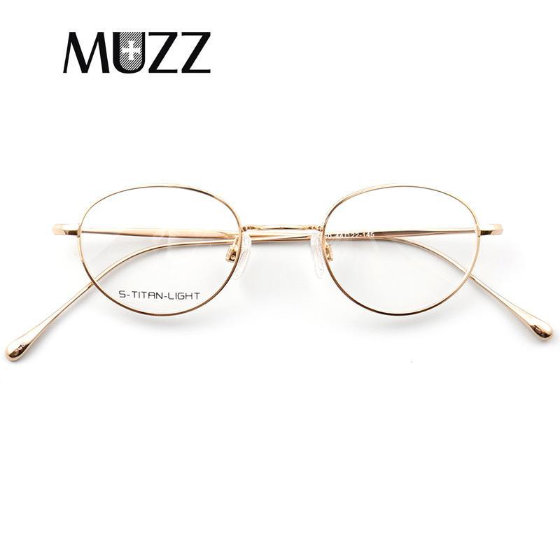 Compre Muzz Óculos De Armação De Óculos De Metal Óptico Rodada Ultraleve  Miopia Prescrição Óculos Mulheres Miopia Armação Óptica Eyewear De  Marquesechriss, ... 2026383193