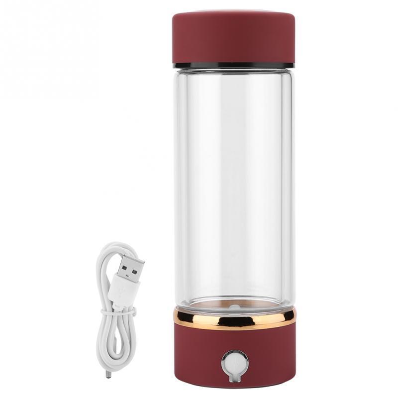 9e9fcf389e 420mL Hydrogen Rich Water Cup Bottle Portable USB Hydrogen Ionizer  Generator Maker. Best Reusable Water Bottles Best Reusable Water Bottles  For Kids From ...