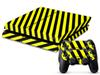 Black and yellow stripes DECAL SKIN PROTECTIVE STICKER for SONY PS4 CONSOLE CONTROLLER