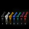 510 Acrylic Transparent Drip Tip with 360 Degree Rotatable Mouthpiece 510 ABS Plastic drip tips fit EGO Atomizer Clearomizers