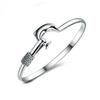 20pcs lot hot gift factory price 925 silver charm bangle Fine Noble mesh Dolphin bracelet fashion jewelry 1304