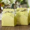 Wedding Favor Gift Boxes Green Wedding Candy Box Elegant Lemon Romantice Decoration Laser Lawm and Outdoor Wedding Laser Cut