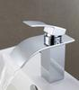 Ceramic Valve Core Sink Faucets Brass Hot and Cold Water Bathroom Basin Mixer Taps with Chrome