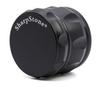 Sharpstone Grinders Concave Herb Grinder Diameter 63MM 4 LAYERS New Style Zinc Alloy Diamond Shape Chamfer Side