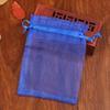 Cor: azul escuroTamanho: 9x12cm