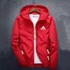 Fashion Brand Mens Jackets Coat Autumn Designer Hooded Jacket With Letters Windbreaker Zipper Hoodies For Men Sportwear Clothes