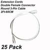 Accessories: 2Ft Extension Cords