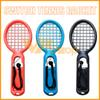 Switch Tennis Racket Small Handle Sport Tennis Packet Kit Mario Game Grip Switch Tennis Racket for Nintendo Games 2 Pack
