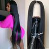 Brazilian Virgin Straight Hair Lace Front Human Hair Wigs For Black Women Pre Plucked Brazilian Ramy Straight Lace Front Wig
