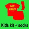 Kinderkit + Socken mit Namensnummer