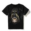 Luxury Mens Designer T Shirts Men Women Hip Hop T Shirt 3D Print Rottweiler Designer Shirt
