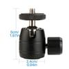 "Mini Ball Head,360 Degree Rotating Swivel Tripod Head with 1 4"" Thread Base Mount for DSLR Camera  Camcorder iPhone"