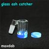 Glass Reclaim Catcher ash catcaher handmake and 5ml silicone wax containers for dab rig glass bong