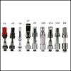 Itsuwa Amigo Vaporizer Cartridge Liberty V1 V5 V7 V9 V12 V10 X5 510 Ceramic Vape Pen For Max Preheat C5 Vmod Battery