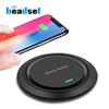 10w Qi Wireless Charger for iPhone X Xs XR 8 plus Fast Charging for Samsung S10 S9 Note 9 USB Phone Charger Pad