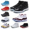 With box new quality 11 Mens 11s Basketball Shoes Women Concord men 45 Platinum Designer baskets Sports Trainers chaussures Sneakers