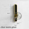 Прозрачное муаровое стекло
