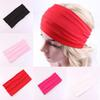Fashion Solid Color Drapes Head Band Wide Yoga Headband Hairband Fashion Mama Gift for Women Drop Ship 120059