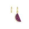 APM Monaco 925 Asymmetric Fruit Watermelon Lady Earrings for Birthday