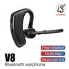V8 Bluetooth earphone V4.0 Business Stereo Earphones With Mic Wireless Universal Voice earphone with package for V8 Voyager