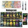 Holograms Black Dank Vapes Cartridge Packaging 1ml 510 Ceramic Cartridges Empty Vape Pen Wax Vaporizer For Thick Oil Glass Tank E Cigarette