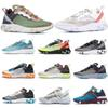 New Arrival Designer 2019 React Element 87 UNDERCOVER Mens Womens Kids Sneakers Breathable Fashion Sport Runing Shoes US 5.5-11