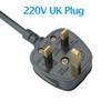 220V UK-Stecker