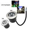 LED Underground Light Landscape Lights 3W 6W Inground Lighting Waterproof LED Buried Lamp for Garden Path Spot Decorative