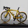 Bent Handle Bicycle Yellow