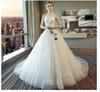 Wedding Dresses Tail Wedding Dresses, Princess Dream 2019 New Spring Bride Breast-wiping Tail Skirt, Factory Spot Direct Sales