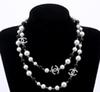 2018 brand designer Long Sweater Chain Colar Maxi Necklace Simulated Pearl Flowers Necklace Women Fashion Jewelry bijoux femme