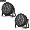 Aluminum Par Light 18x12w rgbw 4in1 Led par light DMX512 flat par lights