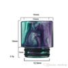 Epoxy Resin drip tip Colorful Wide Bore tfv8 drip tips 810 Mouthpiece for Tfv8 Big Baby Tfv12 Tank with Retail Package