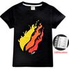 Short sleeve Tshirt Cotton 2019 Spring Sweatshirt for Boys Girls Round collar T-shirt Hot Game Top Tees Kids Clothing C21