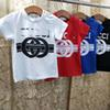 brand Summer new European and American style high-end clothing children's t-shirt cotton boy short-sleeved fashion print girls