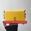 "MINI BAG Sculpture New turn off MINI bag Yellow strap Clip ""for display only""Shoulder Bags Black and white stripes Trend package"