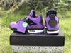2019 Release 4 x Travis Scott 4S Cactus Jack IV Purple Blue Basketball Shoes Sports Sneakers Authentic Quality 308497-406 308497-510