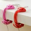 2018 New 3X Clip Desk Tidy Organiser Wire Cord Lead USB Charger Holder Fixer Office Desk Supplies Convenient