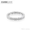 FAHMI 100% 925 Sterling Silver Bear Ring To Send Girlfriends Couple Gift Ring Female Models 512725520 Free Elegant Jewelry