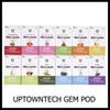 Authetnic UptownTech Gem Pods New Package 1.0ml Capacity No Leakage Cartridge 12 Flavor Option Empty COCO Compatible Vape Pods 100% Original