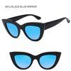 Schwarzer Spiegel Blau